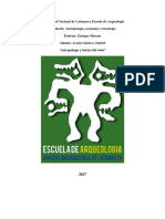 Monografía Antropología, Economia y Tecnología