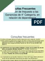 Consultas Frecuentes 4° Categoria.ppt