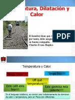 Temperatura, Dilatación y Calor I