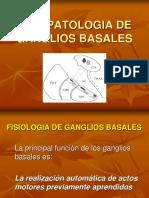 Fisiopatología Ganglios Basales