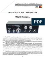 TX705s manual ATV TX