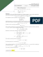 Corrección Segundo Parcial Cálculo III 14 junio de 2017