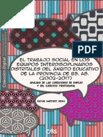 El Trabajo Social en Los Equipos Interdisciplinarios (Matías Martinez Reina)