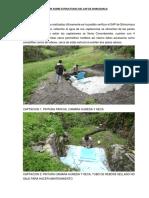Informe Sobre Estructuras Del Sap de Shiramaca