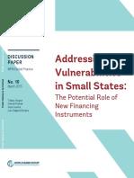 Addressing Debt Financing Instruments