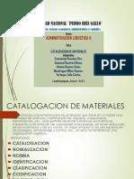Catalogacion de Materiales