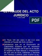 11 AVA CLASE EL FRAUDE DEL ACTO JURIDICO 11.ppt