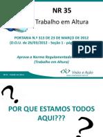 nova apresentação de trabalhos em Altura.pptx