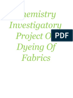 Chemistry project on dyeing of fabrics class XII.docx