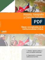 Clase 1 Bases Conceptuales de La Institucionalidad Chilena Mayo Junio 4 Medio