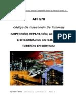Inspección de Tuberías API 570