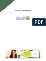Manual Del Mentor y Metodología Curricular