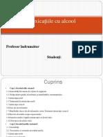 Intox Cu Alcool