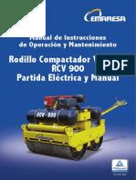 Manual Rodillo RVC 900