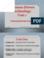 Business Driven IT Chapter 1 Sample