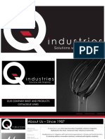 2017- Q Industries Company Brief and Product Catalogue Links