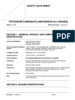 Potassium Carbonate (Anhydrous All Grades) Mtr Ansi En