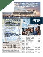 2018 WCLO Panama Canal Cruise