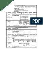 Tablas Resumen Componentes