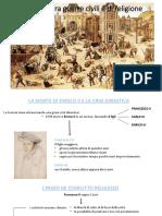 Francia - Guerre Civili e Di Religione