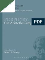 Porphyry; Strange, Steven K Porphyry on Aristotle Categories