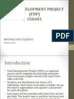 Fdp Briefing