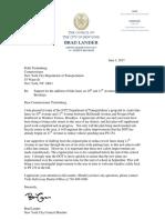 CM Lander Letter to Commissioner Trottenberg Re 10th and 11th Avenue Bike Lanes