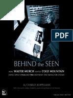 Behind the scene - Walter Murch