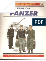 Osprey - Carros de Combate 31 - Division Panzer