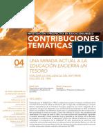 Una Mirada Actual a La Educacion Encierra Un Tesoro