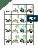 August Calendar - Work Trucks