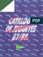 Catalogo de Juguetes El Corte Ingles 1987-1988
