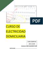 Curso de Electroexplosivos Domiciliarios