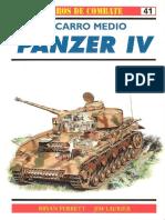 Osprey - Carros de Combate 41 - El Carro Medio Panzer IV