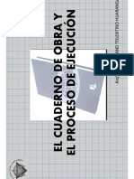 EL CUADERNO DE OBRA Y EL PROCESO DE EJECUCIÓN