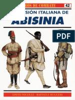 Osprey - Carros de Combate 42 - La Invasion Italiana de Abisinia