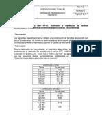 Especif. Técnicas Sardineles Prefabricados v.0.0_Hernan