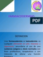 FARMACODERMIAS - OTG