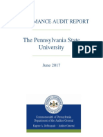 PSU Audit Report