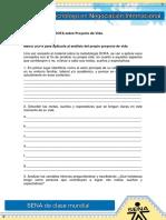 Matriz DOFA sobre Proyecto de Vida.docx