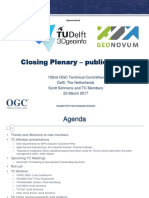 2017 Delft Closing Plenary Public Slides