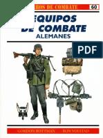 Osprey - Carros de Combate 60 - Equipos de Combate Alemanes