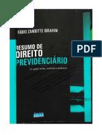 Resumo Direito Previdenciário 01