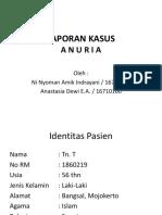 Lapsus Anuria