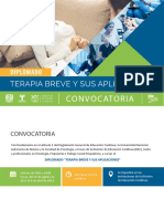 Convocatoria Diplomado Terapia Breve