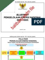 Blueprint Energi Nasional 2005-2025