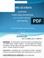 Tgp Aula Jurisdicao e Competencia (1)