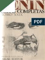 Obras Completas. Tomo 29 - Lenin