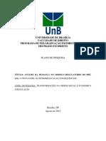Projeto Unb - Análise Da Mudança No Modelo Regulatório Do Pré-sal - o Novo Papel Da Petrobras e Suas Consequências.