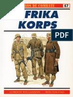 Osprey - Carros de Combate 67 - Afrika Korps